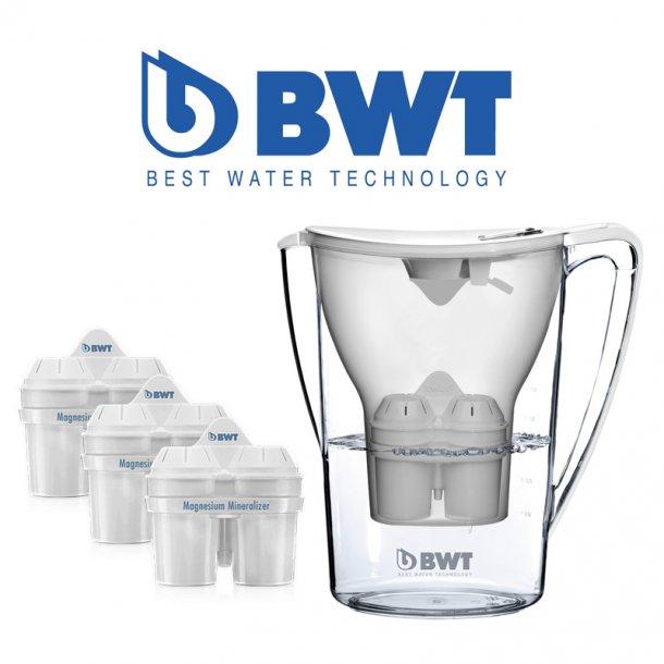 BWT 3 stk. Filter + 1 stk BWT filterkande