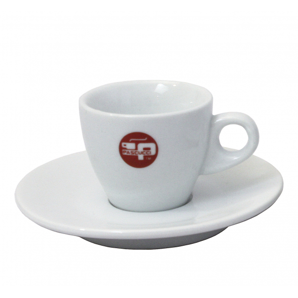 Espressokopper m. underkop - Pascucci