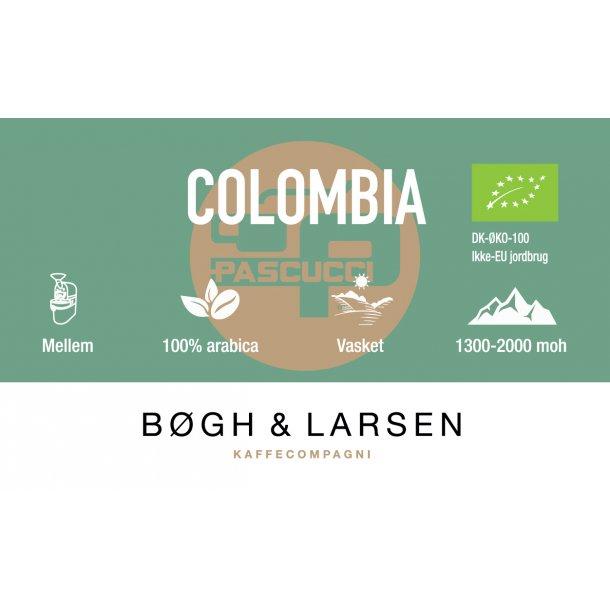 Colombia Øko - friskristet kaffe - 1000g