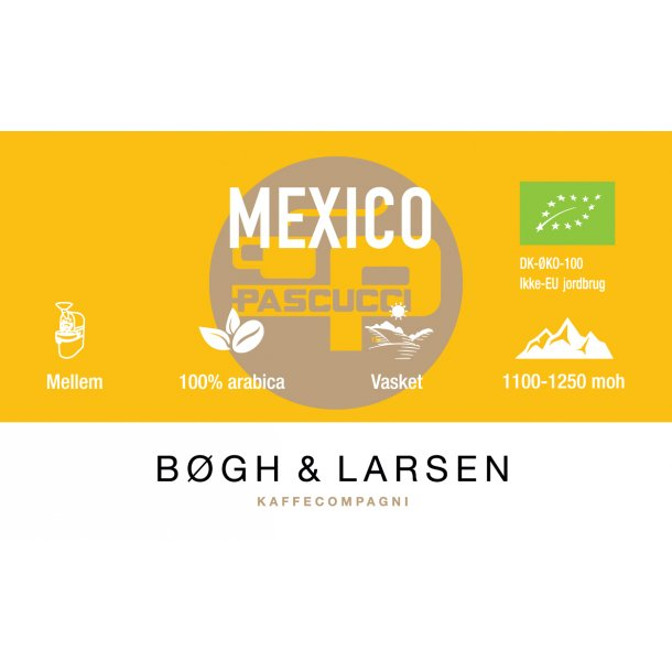 Mexico Økologisk kaffe - 250g