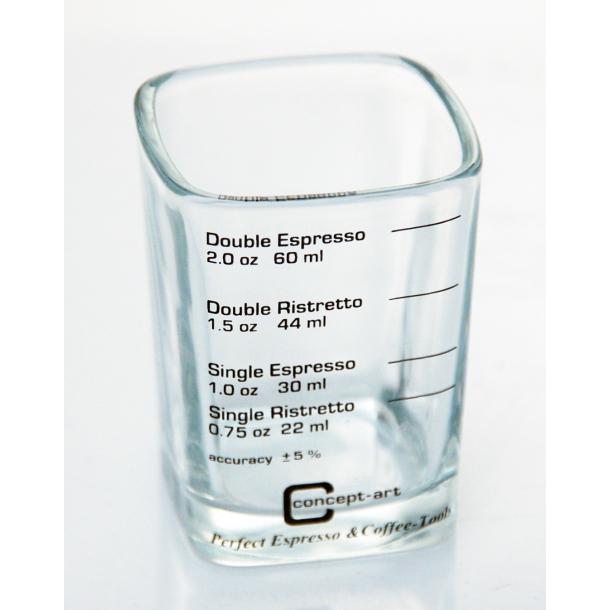 Luksus shot glas til espresso