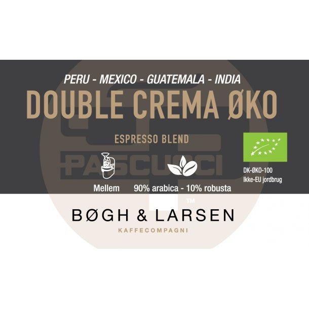 Espresso Double Crema Økologisk - 1000g