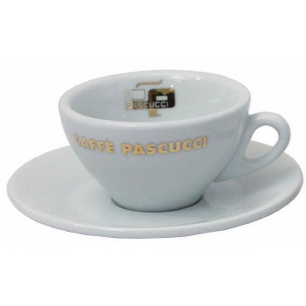 Espressokop m. underkop - Pascucci Guld