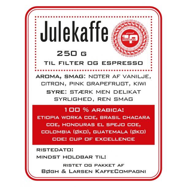 Julekaffe COE blend 100% arabica - Til espresso og filter
