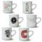 Kaffekrus af kraftigt porcelæn