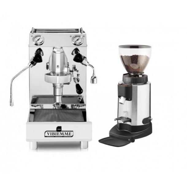 Vibiemme Domobar Jr + Ceado E6P Pakketilbud + 3kg espresso