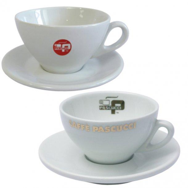 Cappuccinokop porcelæn inkl. underkop - 160ml